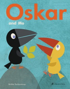 Oskar and Mo von Britta Teckentrup