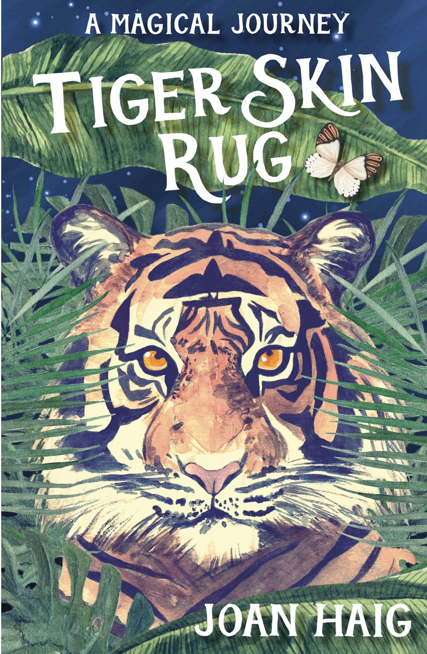 Tiger Skin Rug by Joan Haig – Get Kids into Books